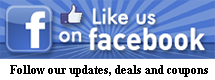 Like us on Facebook to receive a special fans-only discount code and more!
